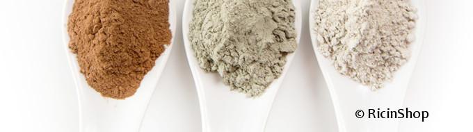 Les bienfaits de l'argile verte et blanche