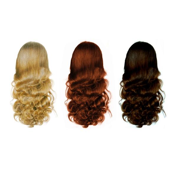Differente couleur henne cheveux