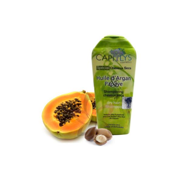 shampoing papaye argan